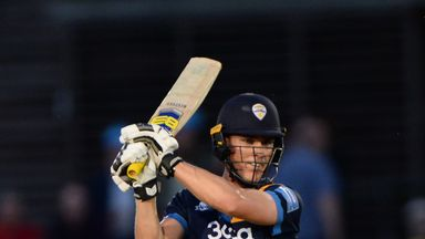 Reece recorded his fourth T20 half-century