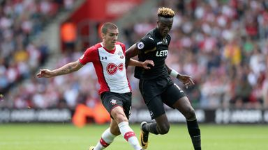 Tammy Abraham (R) has been backed by boss Paul Clement to find his goalscoring touch