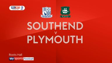 Southend 1-1 Plymouth