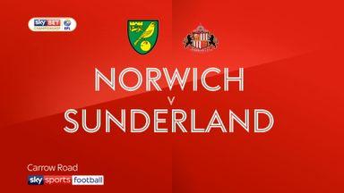 Norwich 1-3 Sunderland
