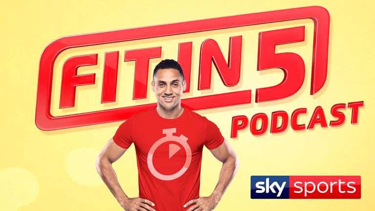 Sarah-Jane Mee joins Marvin Ambrosius  for the first episode of the Fit in 5 podcast