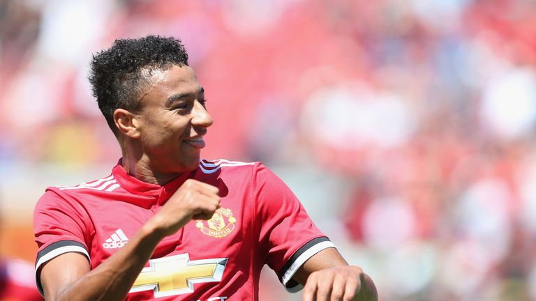 Jesse Lingard insists the confidence is flowing through the Manchester United dressing room