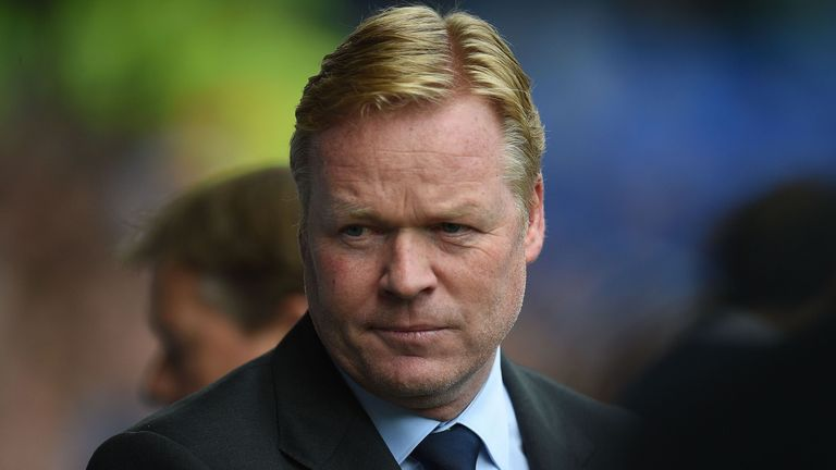 """Ronald Koeman described Everton's opening win against Stoke as """"the perfect result"""""""