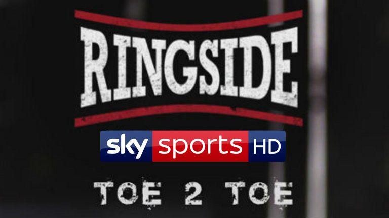 Ringside Toe-to-Toe podcast