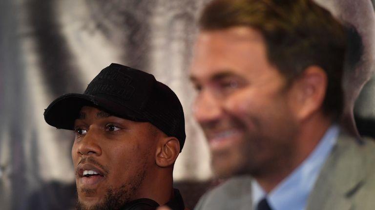 Anthony Joshua vs Joseph Parker is 'achievable' Eddie-hearn-anthony-joshua-boxing_4097794