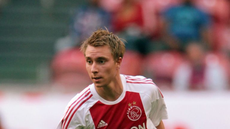 Christian Eriksen signed for Spurs in August 2013 for £11.5m from Ajax