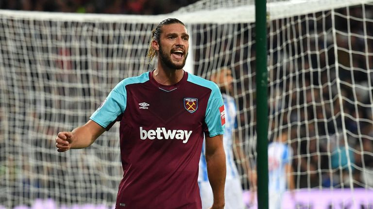West Ham United striker Andy Carroll is set for a rest