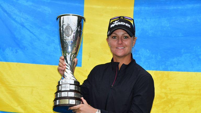 Victory is Nordqvist's eighth LPGA Tour title