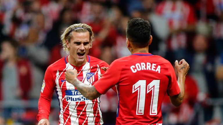 Antoine Griezmann is going through a rare goal drought for Atletico Madrid