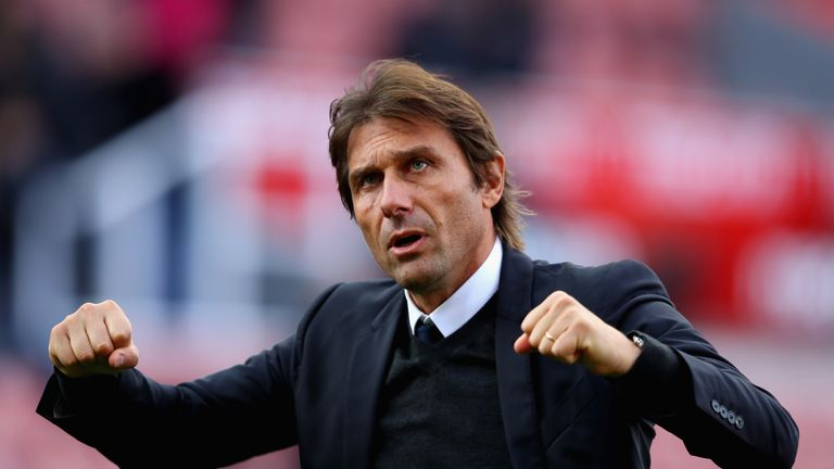Antonio Conte won the Premier League in his first season in charge of Chelsea.