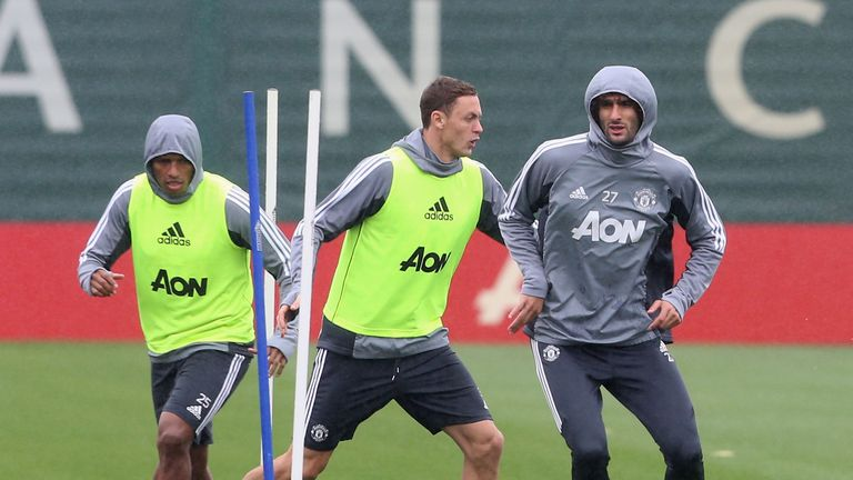 Matic has fitted in well at OId Trafford so far