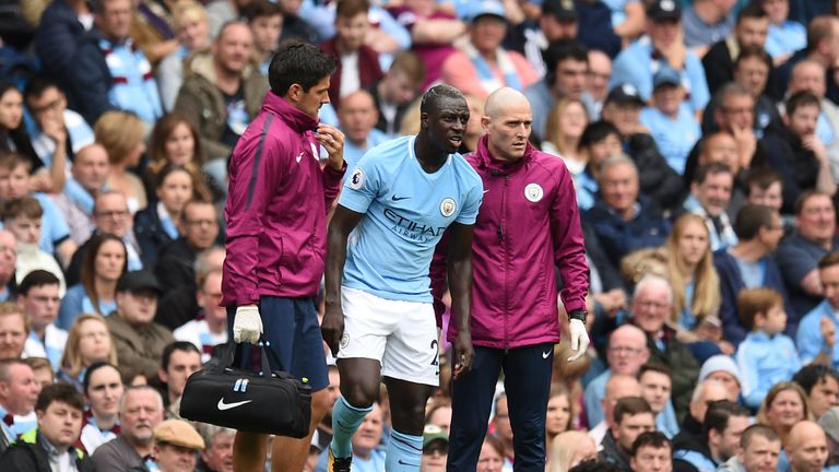 Benjamin Mendy has been out since September with a knee injury