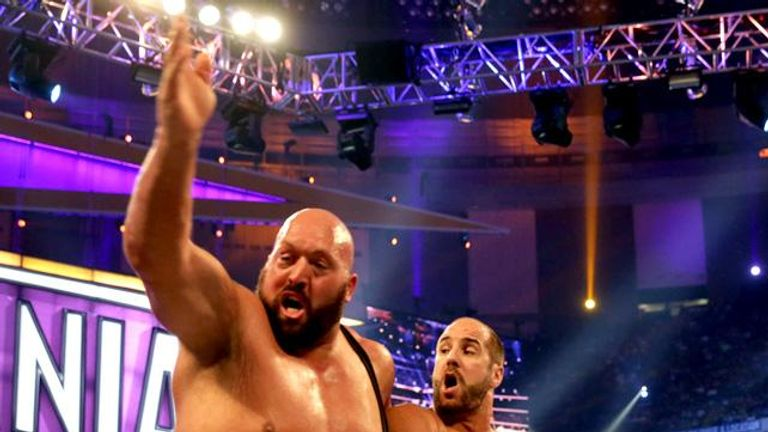 Cesaro famously got the better of Big Show by throwing him over the top rope to win the first Andre the Giant Battle Royal at Wrestlemania 30