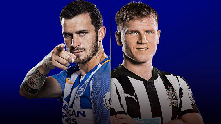 Brighton v Newcastle United - live on Sky Sports