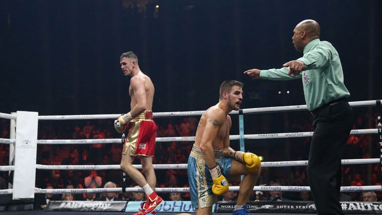 Callum Smith had Erik Skoglund down in the penultimate round