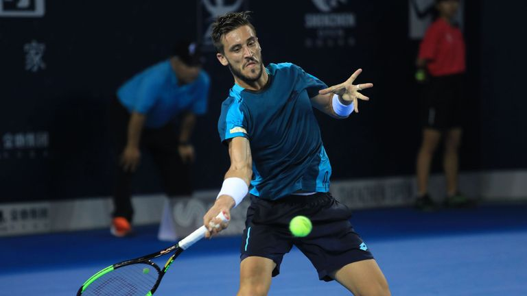 Damir Dzumhur continued his fine form with an impressive victory over world no 4 Zverev