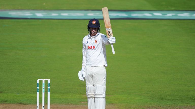 Dan Lawrence made 78 for Essex as they moved ever closer to the title