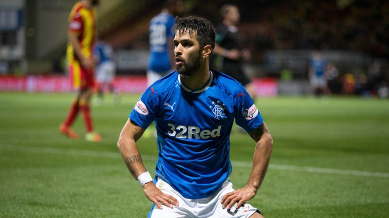 Daniel Candeias signs a two-year contract with Rangers