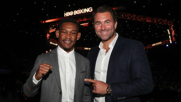 Matchroom's Daniel Jacobs will top the New York bill on November 11