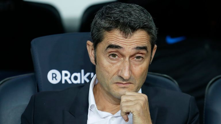 Enersto Valverde's unique management style is delivering results at Barca