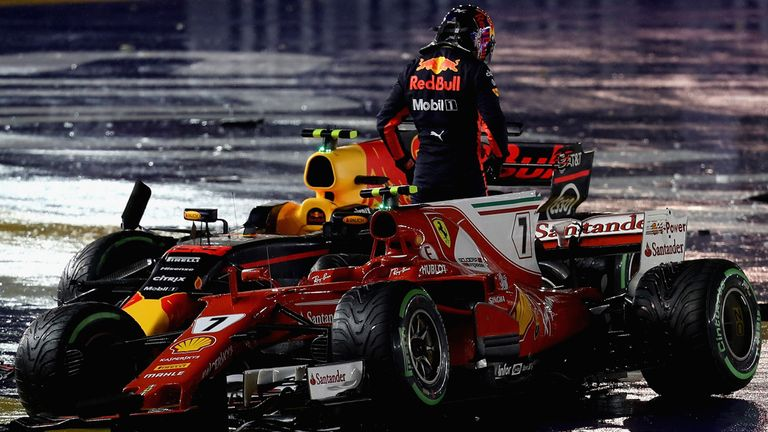 Sebastian Vettel turns on the style to snatch Singapore Grand Prix pole