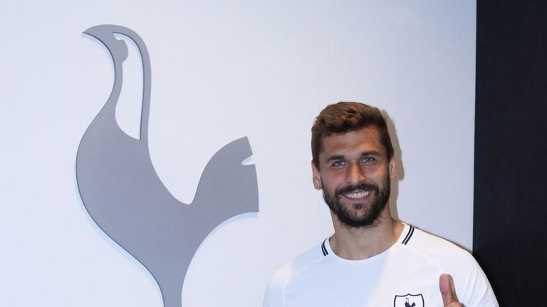 Fernando Llorente has joined Tottenham