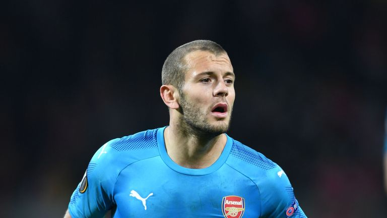 Jack Wilshere is in contention to start for Arsenal on Thursday