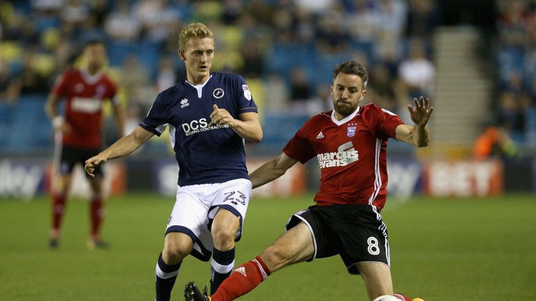 Millwall's George Saville could make his Northern Ireland debut next month