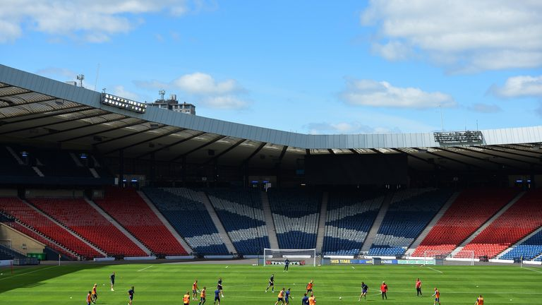 Hampden Park has been home to Queens Park FC since 1873