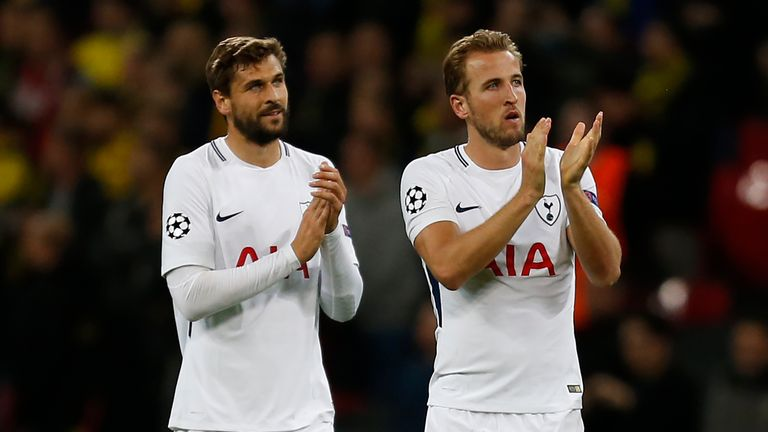 Fernando Llorente may take up the mantle in attack for Tottenham