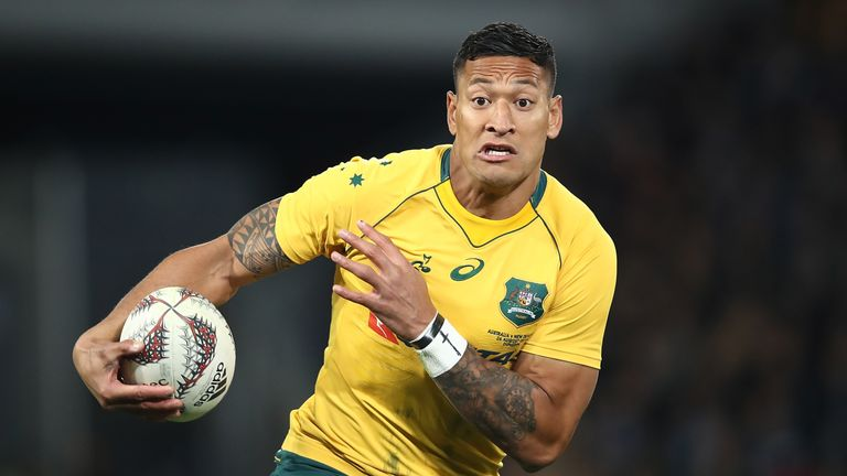 Israel Folau is yet to commit his future to the Wallabies