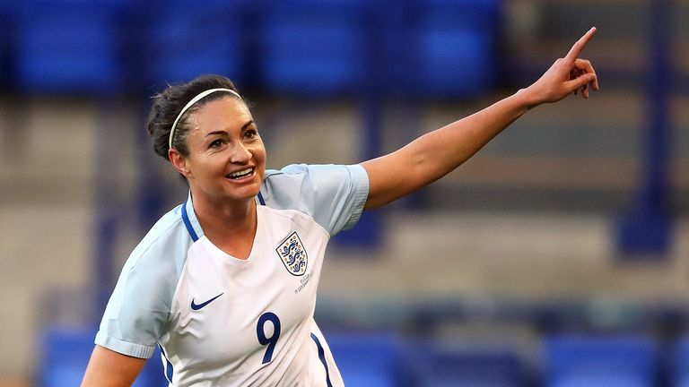Jodie Taylor was named England Women's player of year in September