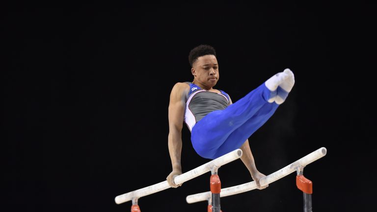 Joe Fraser was crowned British All-Around champion in March