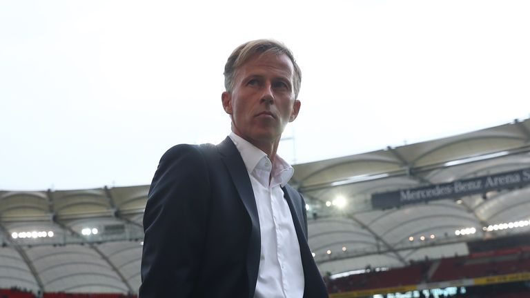 Wolfsburg sack Andries Jonker after seven months in charge