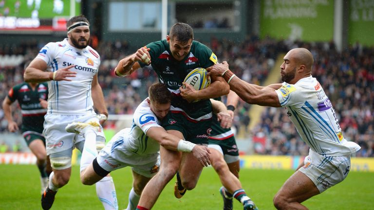 Jonny May and Leicester have made a strong start to the campaign