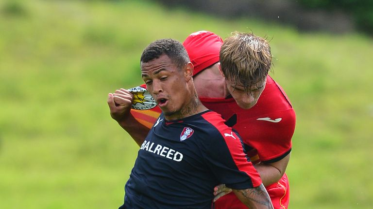 Jonson Clarke-Harris in action for Rotherham