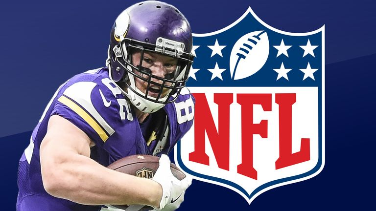 Kyle Rudolph looks ahead to Thanksgiving Day in the NFL