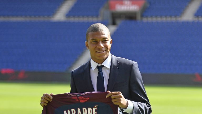 Mbappe will complete a £165m permanent move to PSG next summer