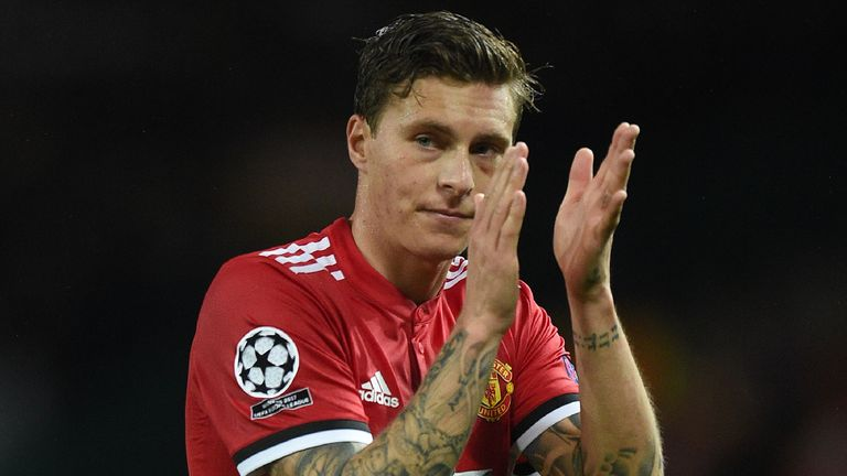 Victor Lindelof made his Old Trafford debut in Manchester United's 3-0 win over Basel on Tuesday