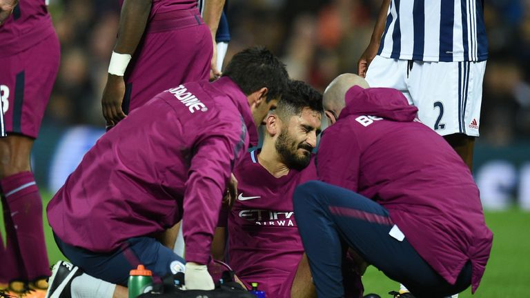 Image result for ilkay gundogan injury