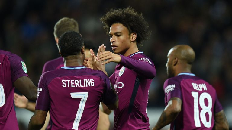 Sane has impressed this season among City's other attacking threats