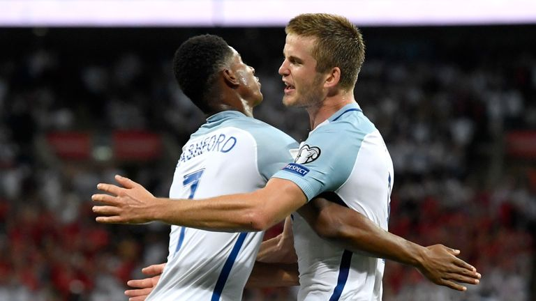 Marcus Rashford and Eric Dier were included in your England XI