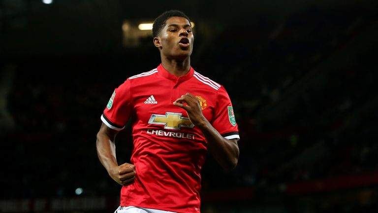 Sir Alex Ferguson raves about Marcus Rashford to former Manchester United players