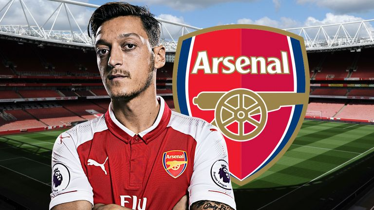 What do the stats say about Mesut Ozil at Arsenal?
