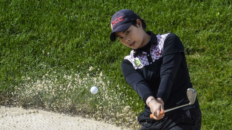 Jutanugarn heads into the final round with a one-shot lead