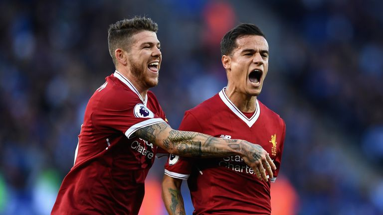 Philippe Coutinho fired himself into the Power Rankings top 10 - despite only making two league appearances this season