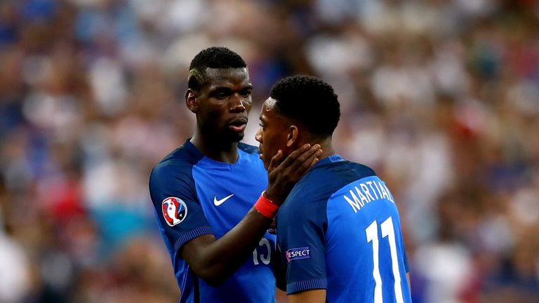 Payet back with France for WCup qualifiers, Martial left out