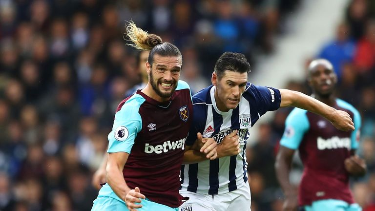 Andy Carroll is known for his physical presence