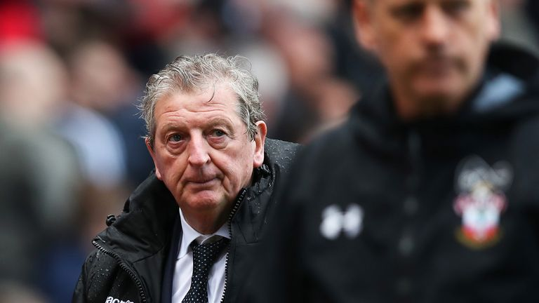 Roy Hodgson could not inspire a change in fortunes for Crystal Palace