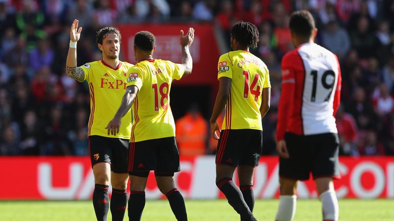 High-flying Watford are eighth in the Premier League